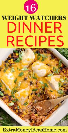 16 Ultimate Weight Watchers Dinner Recipes that Will Blow You You Away. Looking for super healthy and delicious weight watchers dinner recipes that will wow you. These cool recipes are so awesome and they are worth pinning for later. Weight Watcher Dinners, Weight Watchers Diet, Easy Healthy Recipes, Healthy Food, Healthy Eating, Dinner Reciepes, Recipes For Beginners, Food Ideas, Clean Eating