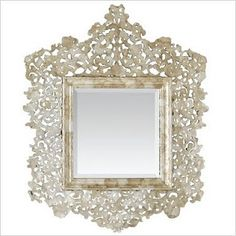 capiz mirror  #projectnursery #franklinandben #nursery