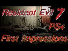 Resident Evil 7 teaser Begining hour Demo First Impressions