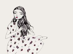 Interview: Katy Smail - illustrator - The Clothes Maiden