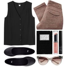 young poet by rosiee22 on Polyvore featuring moda, Monki, Sessùn, H&M, Revlon and NARS Cosmetics