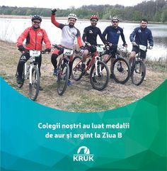 Colegii nostri au participat la competitia Ziua B, unde au castigat 3 medalii de argint si 1 medalie de aur. Felicitari! Aur, Bicycle, Sports, Hs Sports, Bicycle Kick, Trial Bike, Excercise, Bike, Sport