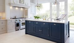 Handmade Designer Kitchens - Traditional & Contemporary Kitchens I adore this blue