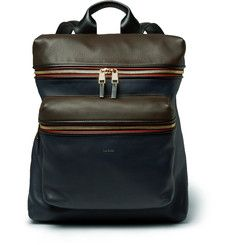 Paul Smith - Panelled Leather Backpack