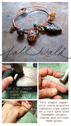 """Fall Walk"""" Bracelet Tutorial"""