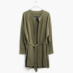 madewell STITCH-EDGE DUSTER JACKET - Google Search