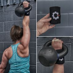 Industrial Athletic wrist guards protect the wrist from movements like kettlebell snatch where there is potential for the bell to make forceful contact with the back of the wrist. Contains a plastic protection barrier, and soft sweat band material. Kettlebell Snatch, Knee Sleeves, Workout Accessories, Crossfit, Industrial, Plastic, Athletic, Band, Sash