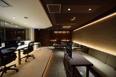 ふたつの表情がある空間 |オフィスデザイン事例|デザイナーズオフィスのヴィス