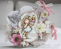 Cards by Camilla: GD at A Little Bit Crafty (ALBC) Challenge ~ Something Sweet♥