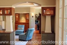 Custom interior  construction in Santa Cruz  by Commons & Burt Builders http://santacruzconstructionguild.us/commons-burt-builders/