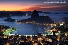 Baía de Guanabara, Mirante Dona Marta, Rio de Janeiro