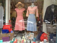 Our Clothing Window Display For Memorial Day Weekend, 2014.