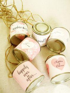 wedding car cans from eb1 wedding invitations.com