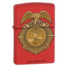 Zippo Fire Badge * See this great product.(This is an Amazon affiliate link and I receive a commission for the sales)