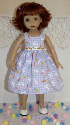 Almost-Easter-Bunnies-Gingham-fits-13-Effner-Little-Darling