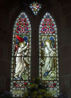 Annunciation Window, Clifton