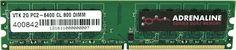 VisionTek - Adrenaline Series 2GB PC2-6400 DDR2 Desktop Memory - Multi