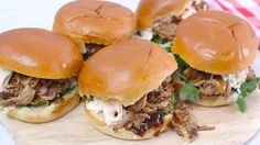 <p>How to cheat at creating tender, juicy pulled pork? Make it in a slow cooker! Watch BBC Good Food's super easy video recipe for this crowd-pleasing meat dish.</p>