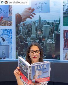 Thank You @annabellebaudin Enjoy #elyxbook !!! #Repost Ça presse! #elyxbook Pour découvrir l'histoire d #Elyx mon article ici http://ift.tt/1YGQgZP @elyxyak