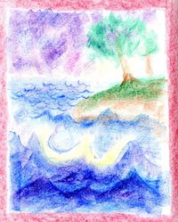 Waldorf ~ 1st grade ~ Letter: W ~ Water