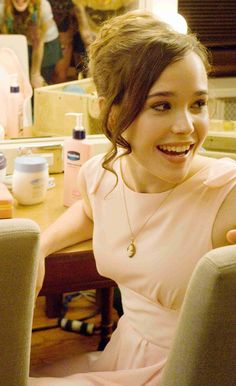 "I'm writing a ""50's"" scene or movie, just so I can see Ellen Page in that time period."