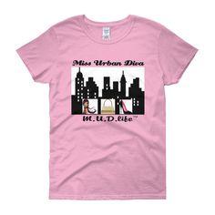 Miss Urban Diva 1 Women's short sleeve t-shirt
