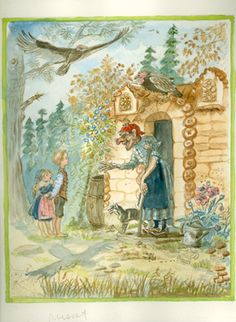 Cellar Door Books: ORIGINAL ART FROM TASHA TUDOR'S BEDTIME BOOK. - The World of Tasha Tudor