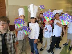 First Grade Glitter and Giggles.  Each grade dresses up as characters from books.  Cute!