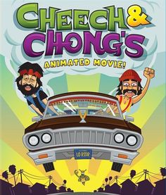 Cheech and Chong return in this animated comedy that brings the funniest moments from their Grammy Award-winning albums to life in cartoon form. Cheech Y Chong, Comic Cat, Comic Book, Animated Movie Posters, Marijuana Art, Cannabis, Up In Smoke, Comedy Movies, Watch Movies