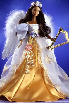 1998 Harpist Angel™ Barbie® Doll | Barbie Collector, Release Date: 1/1/1998 Product Code: 20551, $89,00 Orginal Price