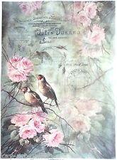Rice Paper for Decoupage Decopatch Scrapbooking Sheet Craft Vintage Garden
