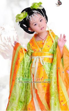 d00385c82b85 Traditional Chinese, Traditional Dresses, Asian Kids, Princess Costumes,  Flower Fairies,