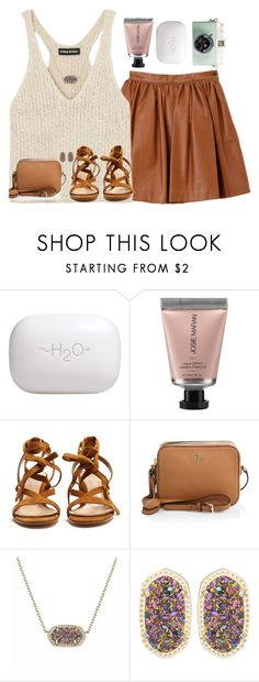 """""""Salty but sweet"""" by livnewell ❤ liked on Polyvore featuring Sonia Rykiel, H2O+, Josie Maran, Gianvito Rossi, Tory Burch and Kendra Scott"""