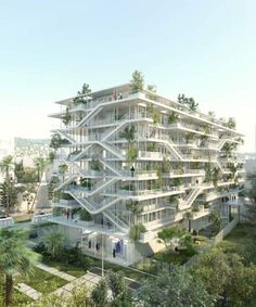 NL*A PARIS HAS REVEALED THE PLANS FOR ITS NEW OFFICE BUILDING IN NICE