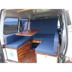 Kit Camping Motorhome Rodante Para Partner Kangoo Berlingo - $ 20.900,00