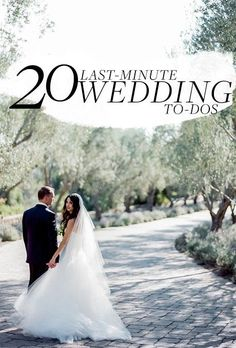 Things you need to do, even at the eleventh hour   Brides.com