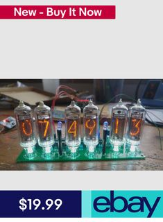 Nixie Clock Kit (no tubes) Arduino Open Source Arduino Board, Interior Design Courses, Nixie Tube, Digital Clocks, Open Source, Radio Control, Radios, All In One, Retail Packaging