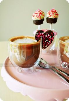 Amazing picture from The Sweetest Kitchen using Bodum Pavina glasses, Bodum milk frother and Baker's Secret cookie cutters
