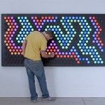 Everbright: A Giant Interactive Light Toy That��s Like a Lite-Brite for Grown-Ups