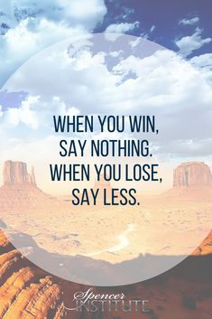 When you win, say nothing. When you lose, say less. Showing negative people that you encourage their choice to perform badly will give them no real incentive to transform, which perhaps is something they might actually think they need. #lifecoaching #businesscoaching #nutritionist #challenges #frustrations #problems #becomeprofitable