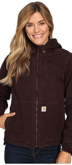 c281b95664d Carhartt Full Swing Caldwell Jacket (Deep Wine) Women s Coat - Carhartt