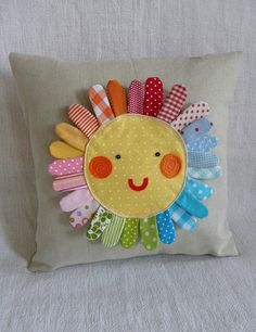 sunshiney rainbow....@Heather Patterson you should make this!