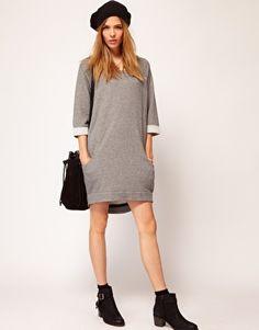 Enlarge Selected Alpha Sweat Dress