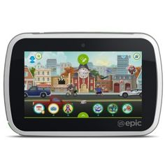 Buy Refurbished VTech 31712 LeapFrog Epic Android-based Kids Tablet at Wish - Shopping Made Fun Best Android Tablet, Android Apps, Best Tablet For Kids, Kids Tablet, Interactive Learning, Learning Games, Creative Play, Tech Gadgets, Sons