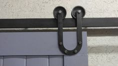 Industrial/Classic Double Wheel U Style Sliding by ABAHardware Barn Door Hardware, Made In America, Clothes Hanger, Wheels, Track, Industrial, Doors, Flat, Classic