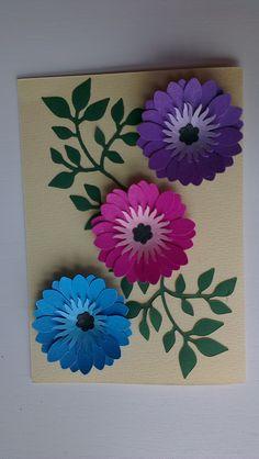 blomster af forskellige punch