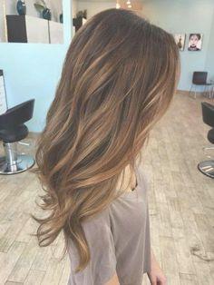 22 dark and warm brown hair with blonde caramel highlights ... | Frauen Haare |