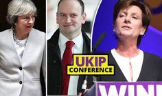 Newly elected UKIP Leader Dinane James challenges Carswell to push article 50 through Parliament -  Theresa May, Douglas Carswell and Diane James