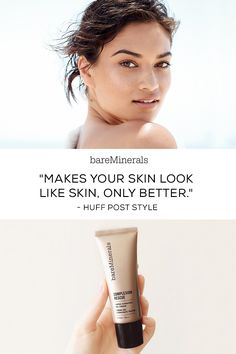 Meet Complexion Rescue™ Tinted Hydrating Gel Cream, the #1Prestige Beauty Launch of 2015. A multi-tasking genius that combines skincare benefits and naturally radiant coverage in one. With SPF 30, this non-chemical, mineral based makeup product is perfect for active women on-the-go. The best of a BB, a CC, and a tinted moisturizer, Complexion Rescue is available in 16 shades on bareMinerals.com