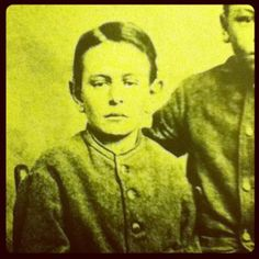 Temple Friend, who was captured by Comanches in Legion Valley, Texas, in 1868, at the age of seven. This picture was taken immediately after his return to his white family. Returned to his family after 6 years, he had a hard time reintegrating and died two years later, some say of a broken heart.